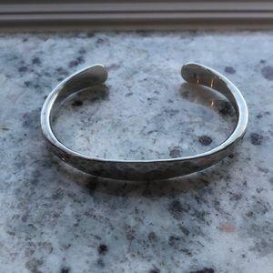 James Avery*RETIRED* hammered cuff bracelet